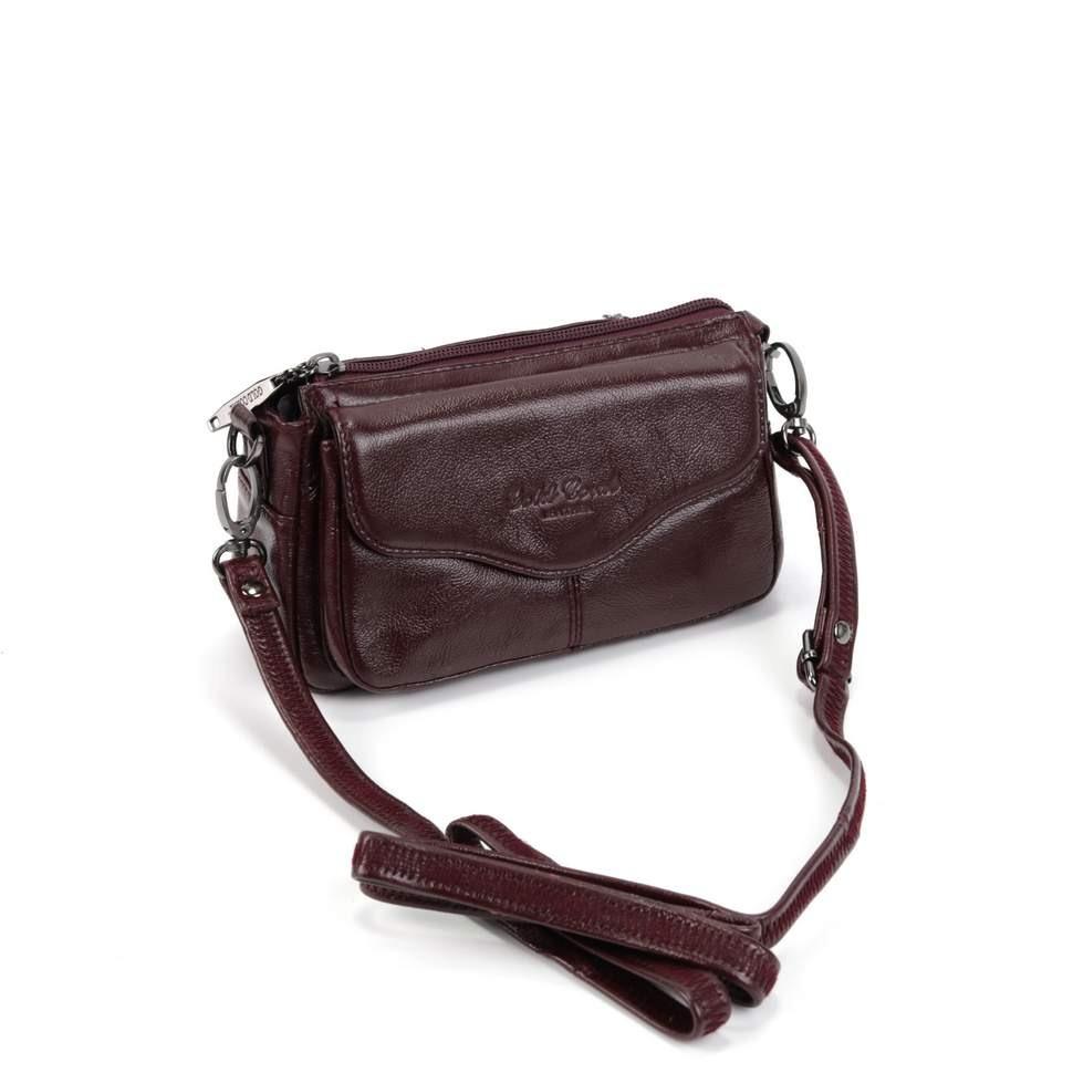 Женская кожаная сумка 3913 Бордо