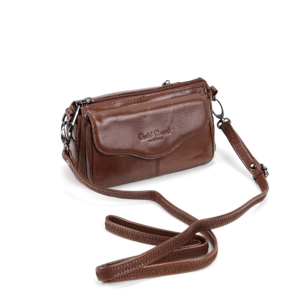 Женская кожаная сумка 3913 Рыжий